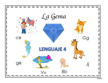 C2 LENGUAJE 4 Letras B, J, G, C (suave), G (suave), V.
