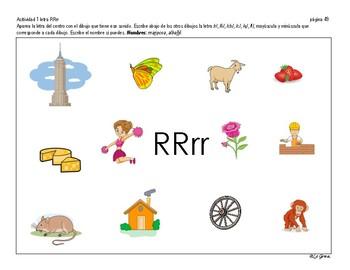 C2 LENGUAJE 3 Letras RR, R, C-Q, F, CH, Ñ.