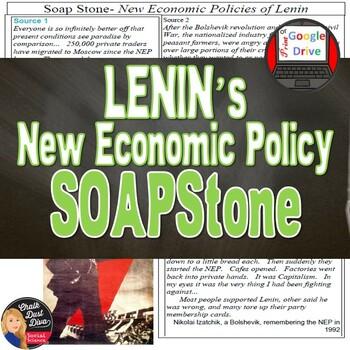 LENIN SOAPStone Primary Source Analysis Worksheet (Grades 8-12)