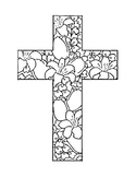 LENT COLORING, BUNDLE 6 PAGES, LENT ACTIVITIES, LENT 2018