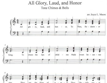 LENT & EASTER - No. 2 - 3 Easy Chimes & Bells Arrangements