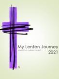 LENT - My Lenten Journal Reflective Journal Project - 2018