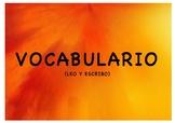 LEO Y ESCRIBO (VOCABULARIO CALABAZAS)