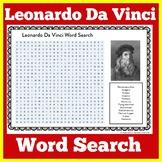 Leonardo Da Vinci  Worksheet | Davinci