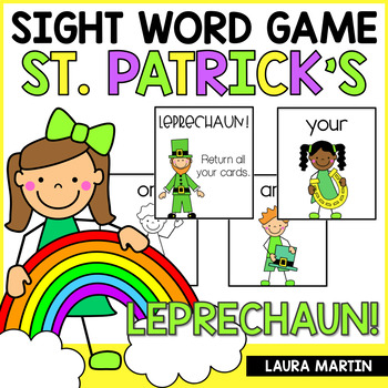 Leprechaun Sight Word Games Teaching Resources Teachers Pay Teachers