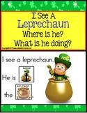 Autism - Build A Sentence with Pictures Interactive - LEPRECHAUN