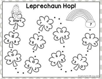 LEPRECHAUN HOP!  St. Patrick's Day Addition Freebie