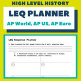 LEQ Response Planner (AP World, AP US, AP European)