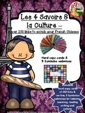 LES 4 SAVOIRS ET LA CULTURE: Over 250 Links to Enrich Your French Classes