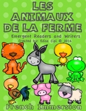 LES ANIMAUX DE LA FERME!  FARM ANIMALS IN FRENCH