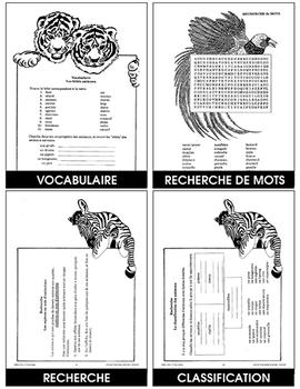 LES ANIMAUX MAGNIFIQUES Gr. 4-6