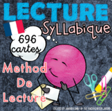 LES CARTES SYLLABES- (LECTURE SYLLABIQUE) French Immersion