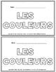 LES COULEURS BOOKLET!