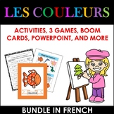 LES COULEURS: THE COLORS IN FRENCH BUNDLE (1st to 5th)