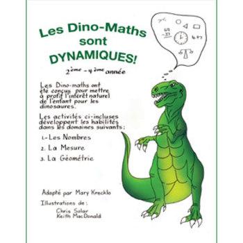 LES DINO-MATHS SONT DYNAMIQUES! Gr. 2-4