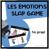 LES ÉMOTIONS - French Emotions Vocabulary Slap Game