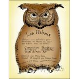LES HIBOUX Gr. 4-8