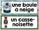 LES JOUETS - Mots de vocabulaire /24 affiches (script et cursif)