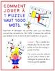 LES LÉGUMES (1 puzzle vaut 1000 mots)