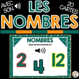 LES NOMBRES - FRENCH BOOM CARDS™️  French Distance Learning