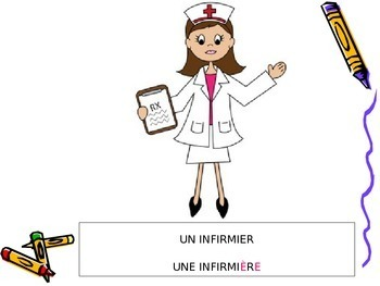 LES PROFESSIONS: French Vocabulary on Jobs and Professions