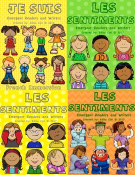 LES SENTIMENTS - FEELINGS BUNDLE IN FRENCH - NEW!  NEW!  NEW!