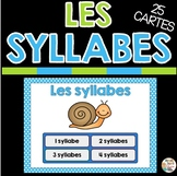 LES SYLLABES - FRENCH BOOM CARDS™️  French Distance Learning