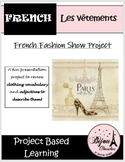 LES VETEMENTS - French Fashion Show Presentation Project With Rubric & Song List