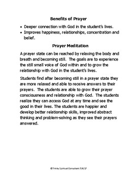 LESSON Devote ourselves to prayer and serving