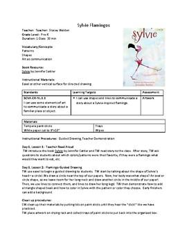 LESSON PLAN Sylvie Flamingos Pre-K, K, 1