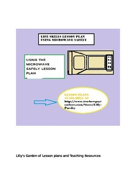 LESSON PLAN ON USING MICROWAVE SAFELY