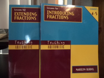 LESSONS FOR INTRO FRACTIONS, EXTENDING    (SET OF 2)