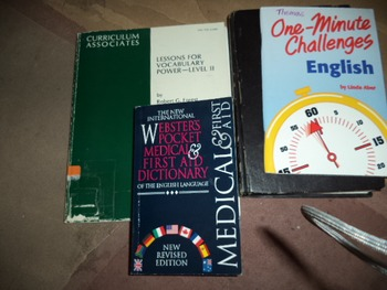 LESSONS FOR VOCABULARY POWER- LEVEL 11 (PLUS 3 MORE BOOKS)