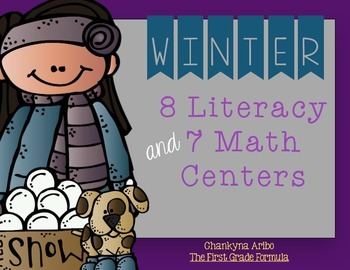 LET IT SNOW!  Winter Literacy and Math Centers