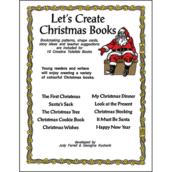 LET'S CREATE CHRISTMAS BOOKS Gr. K-3