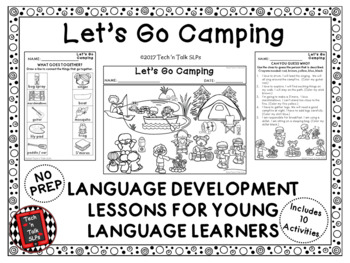 LET'S GO CAMPING! Language Development Lessons for Young Language Learners