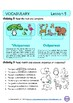 LET'S GO TO THE ZOO! LESSON PLAN