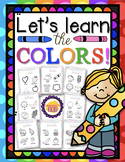 LET'S LEARN THE COLORS! by: Learner's Hub