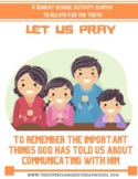 About Prayer:  LET US PRAY!