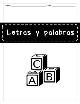 LETRAS Y PALABRAS