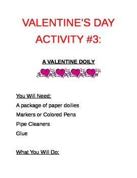 Valentine's Day...A Kit of Valentine's Day Projects