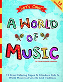 LET'S COLOR… A WORLD OF MUSIC