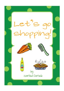 LET'S GO SHOPPING! matching game