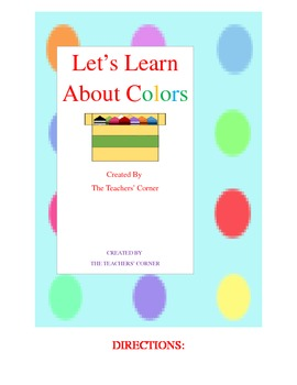 Let's Learn about Colors!