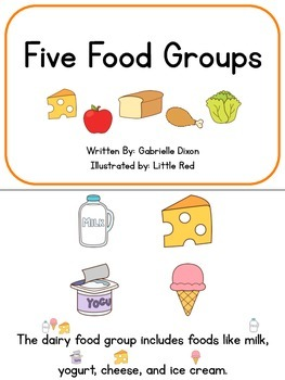 LET'S LEARN ABOUT NUTRITION: Adapted Books, Activities, & Vocabulary Cards