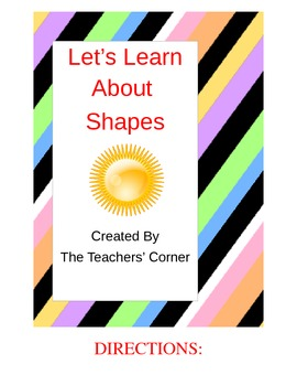 Let's Learn about Shapes!
