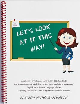 ESL Handouts for Adult Learners--Hard Copy Version