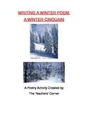 Winter Cinquain...Let's Write about Winter!