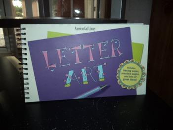 LETTER ART      ISBN 1-58485-287-9