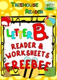 LETTER B - ACTIVITY PACK - FREEBEE